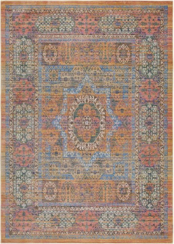 Surya Ger2302 91110 Germili 9 X 12 Rectangle Synthetic Power Loomed Traditiona Yellow Rugs Area Rugs Rugs Traditional Area Rugs Area Rugs
