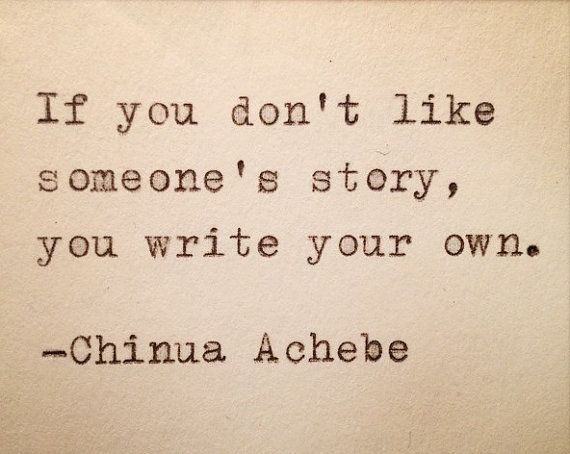 Chinua Achebe Quotes Amazing Chinua Achebe Quote Typed On Typewriter And Framed By Farmnflea