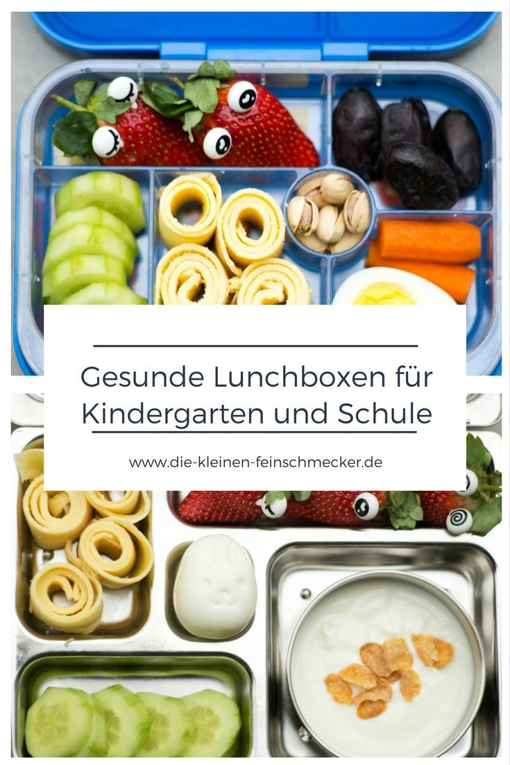 gesunde lunchbox f r kindergarten und schule brotdose f r den kindergarten pinterest. Black Bedroom Furniture Sets. Home Design Ideas