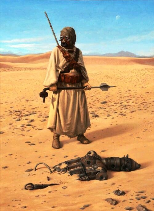 star wars a new hope episode iv tusken raiders less formally