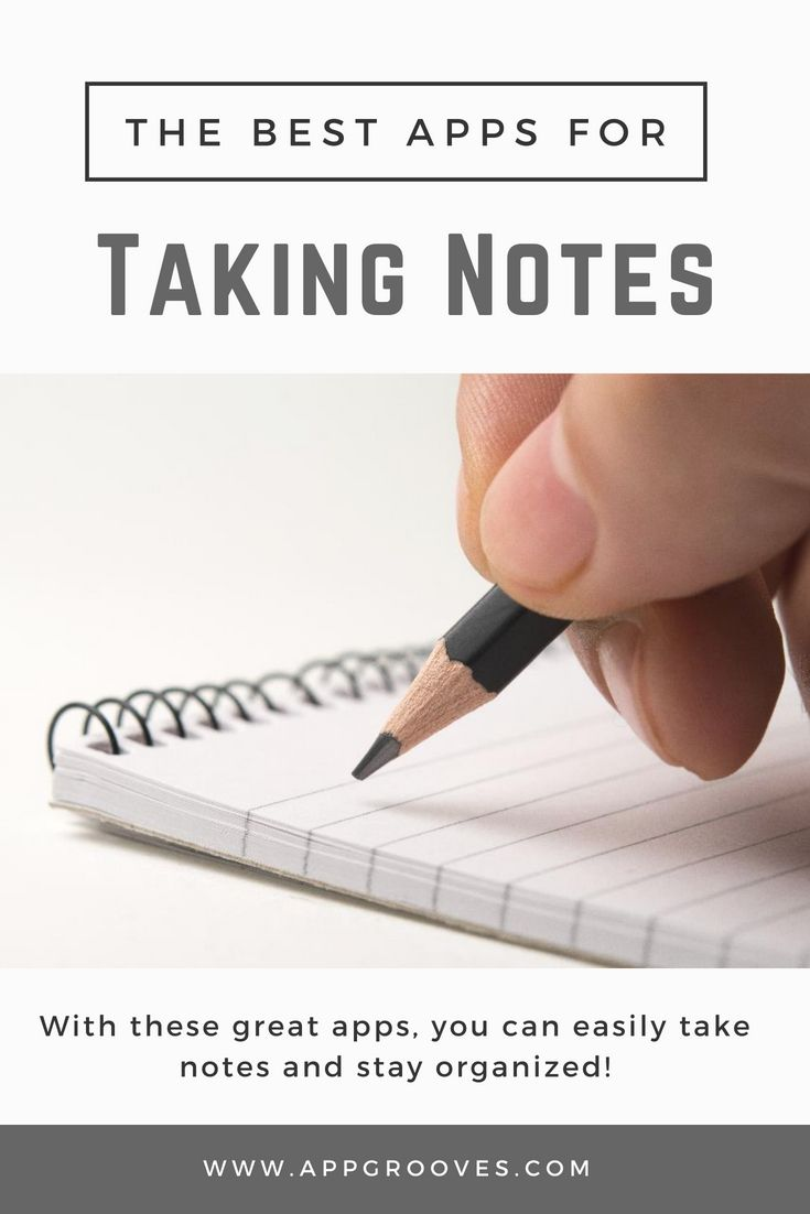 Best Note Taking Apps Remembering Made Easy AppGrooves