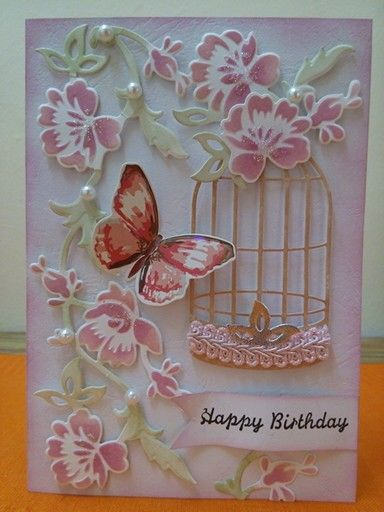 Image result for Poppy Stamp wired bird cage