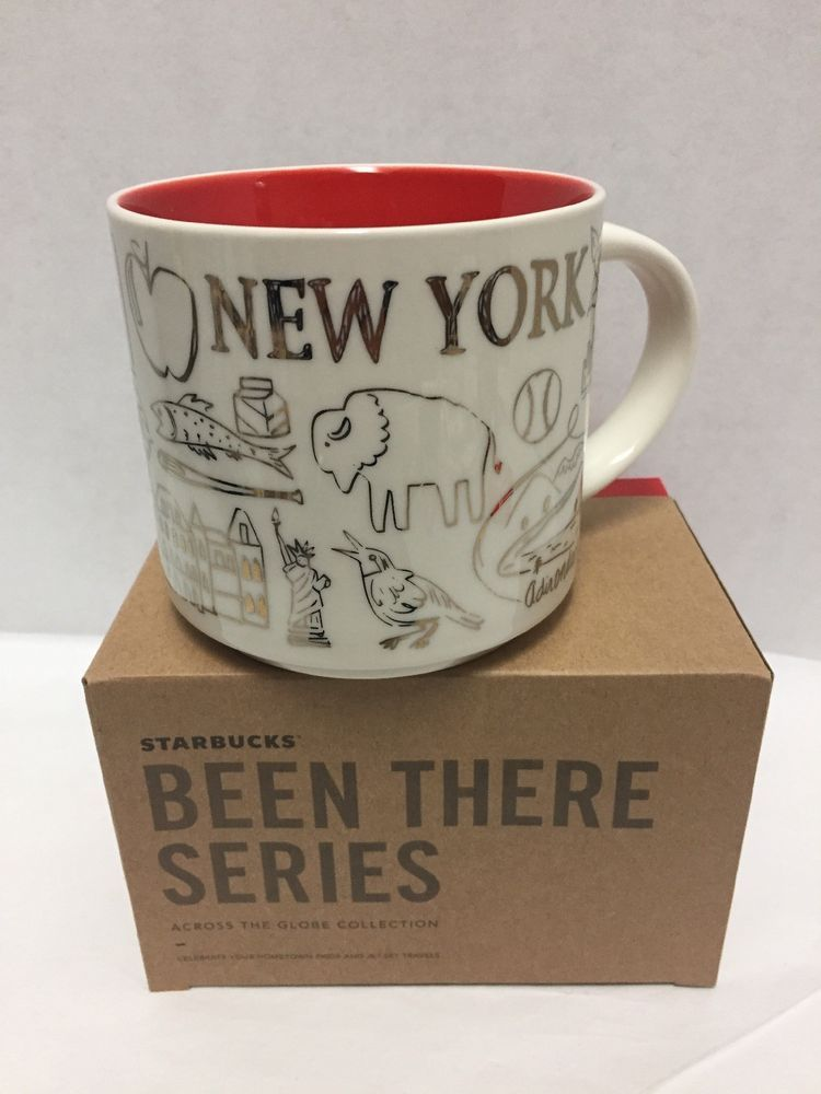 Starbucks Christmas Mugs 2019 New Starbucks 2018 Holiday Been There New York Coffee Mug White