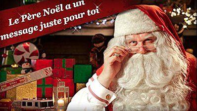 Message Video Du Pere Noel Le message vidéo personnalisé et gratuit du Père Noël | Video du