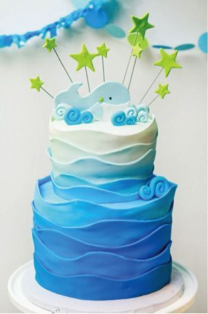 Eco Friendly Adorable Whale Themed Baby Shower