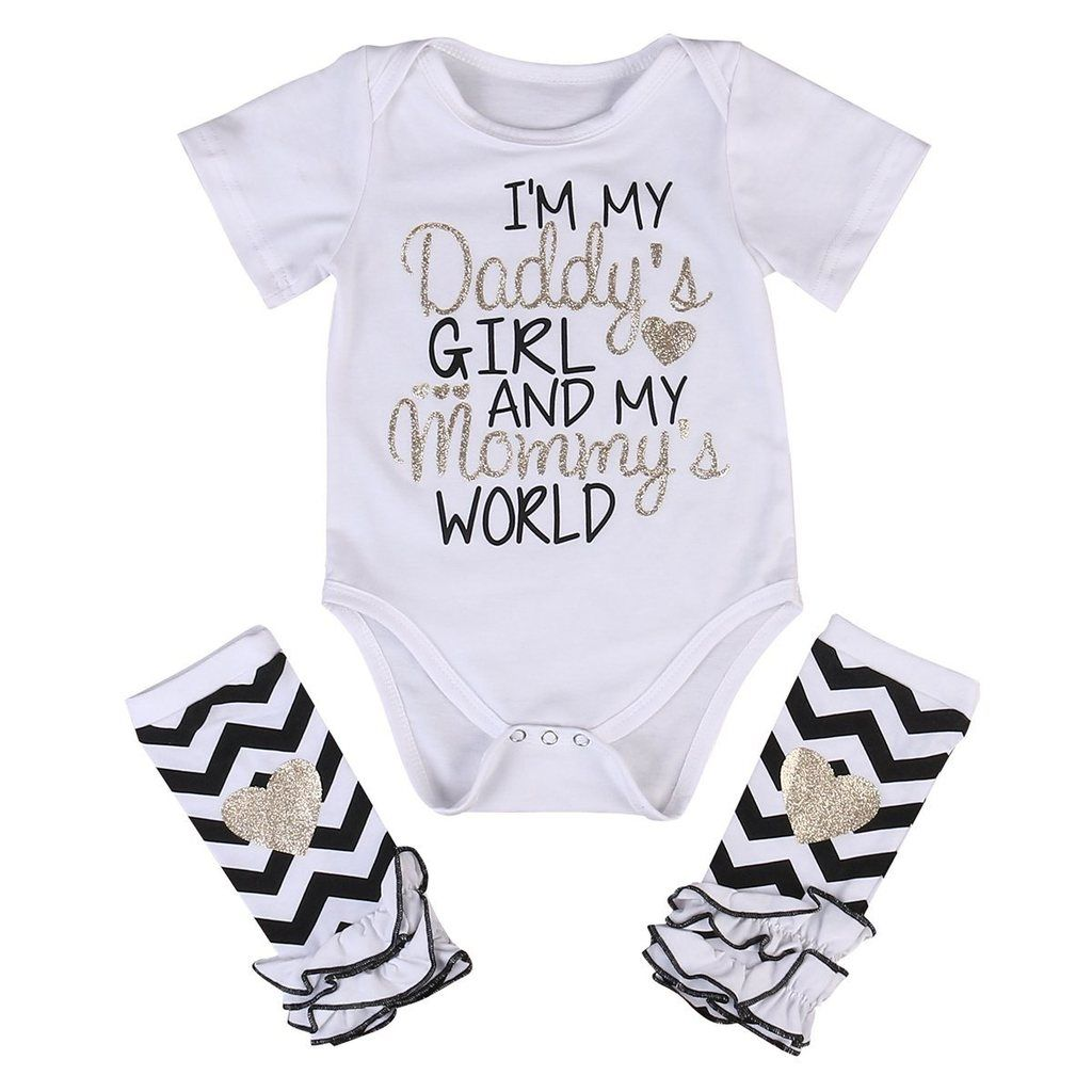 684ee3a8858 Daddy s Girl Mommy s World Set