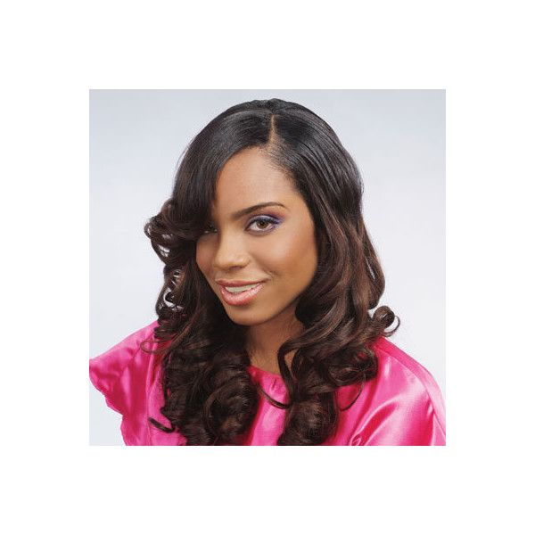 Long Weave Hairstyles For Black Hair African American Weave Styling Liked On Polyvore Long Weave Hairstyles Weave Hairstyles Black Hairstyles With Weave