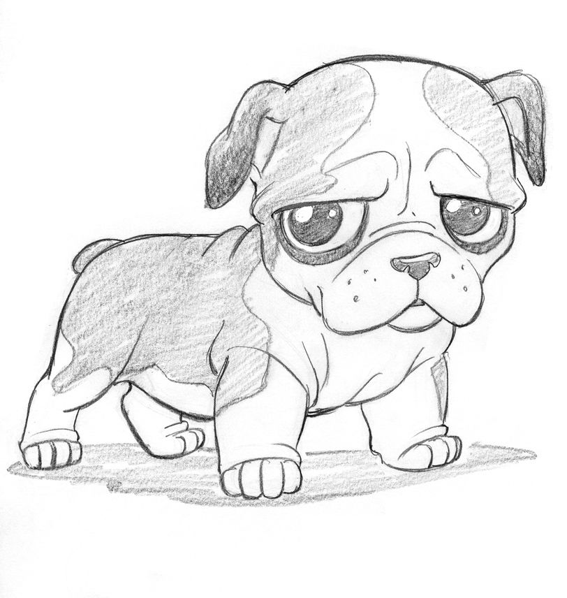 Cutsey Bulldog by *tombancroft on deviantART   Creature   Pinterest ...