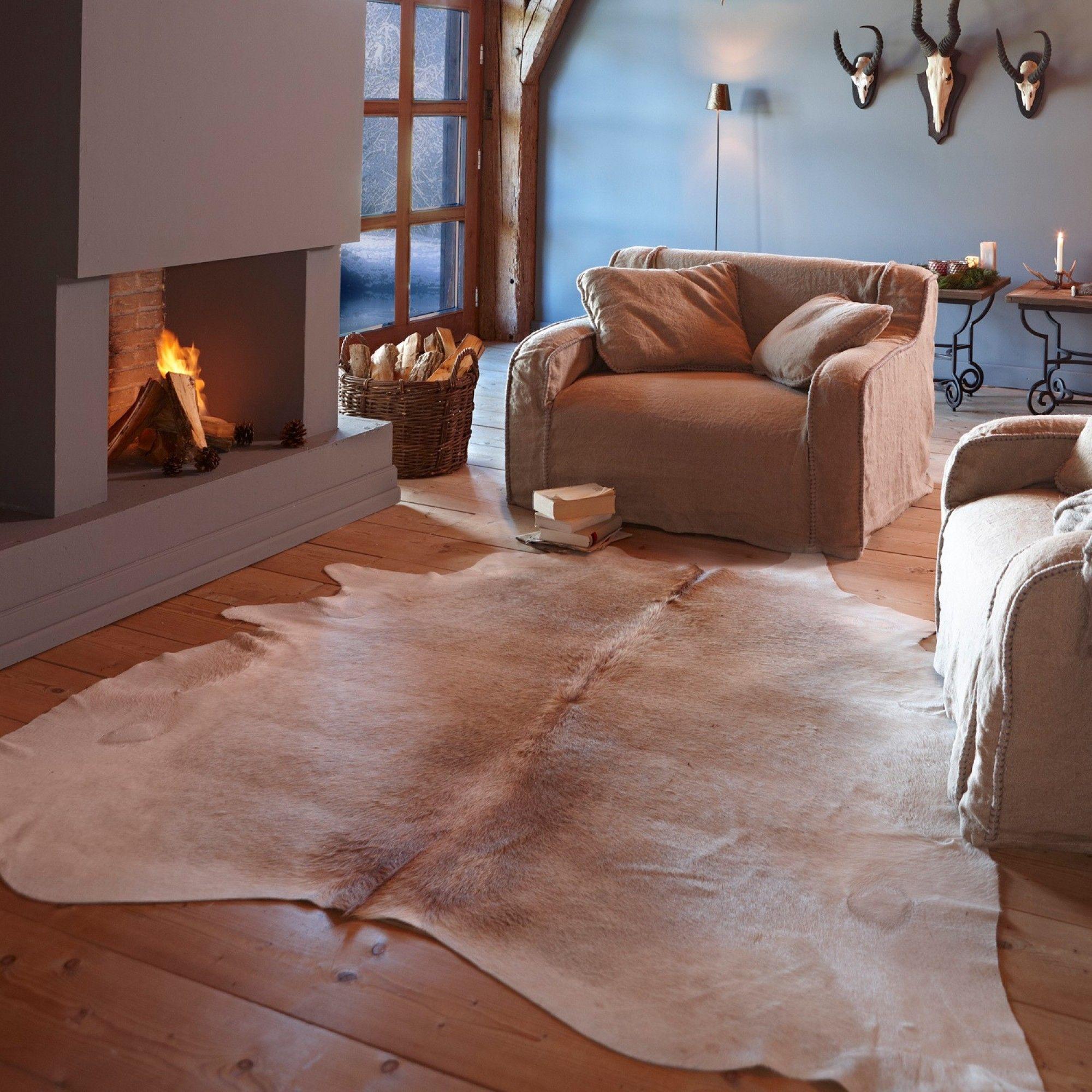 Kuhfell teppich  Kuhfell-Teppich Pasadena' gesehen auf Loberon.de | Home ...
