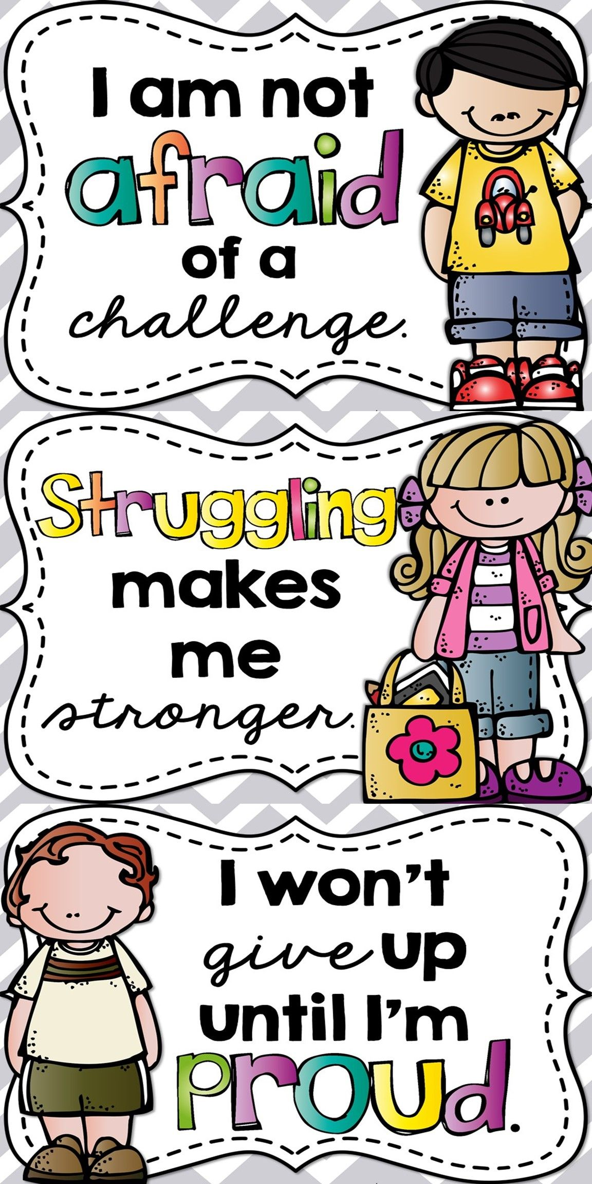 Design Classroom Posters : Growth mindset posters students and school