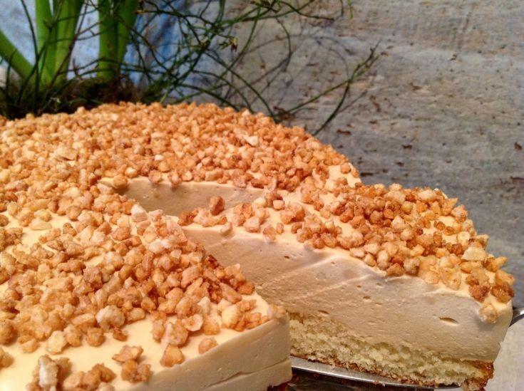 Karamell- Mandel- Torte