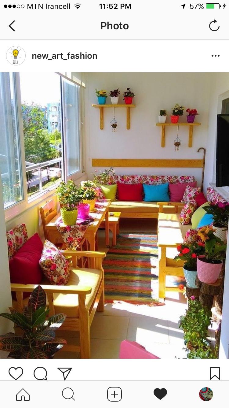 Pin By Rumeysa Gokce On Balkon Indian Home Decor Balcony Decor