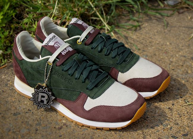 c706f02497d7 Releasing  HAL (Highs   Lows) x Reebok Classic Leather