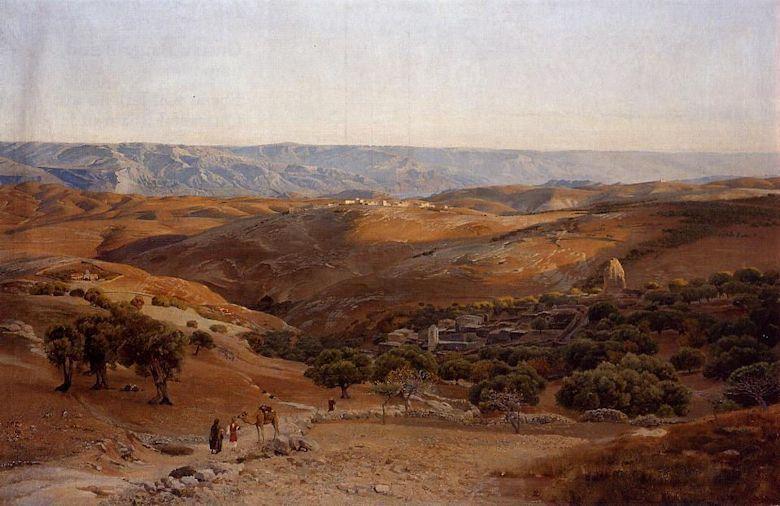Pintores Orientalistas: Gustav Bauernfeind - Trianarts