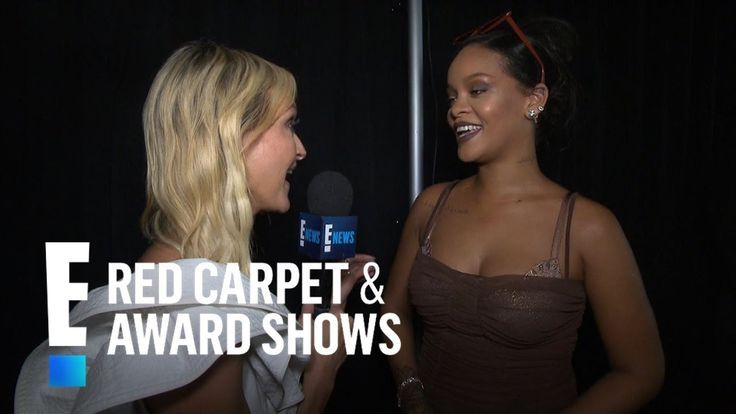 Rihanna Celebrates Pregnant Models at Fenty Lingerie Show  E Red Carpet  Award Shows makeup Eyeshadow