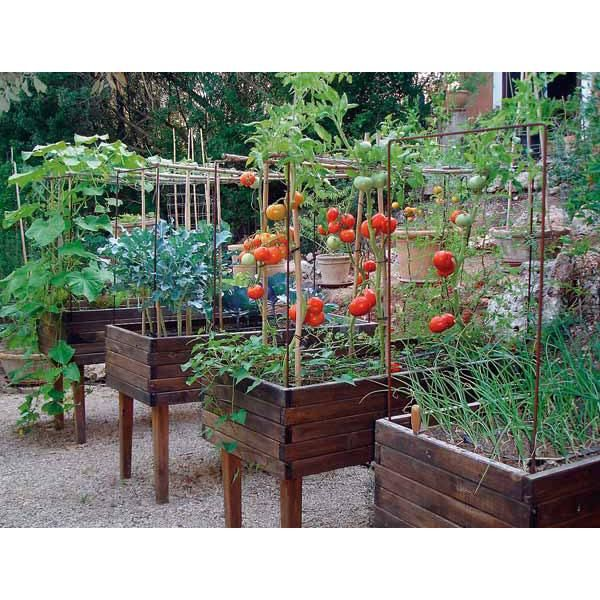 Mesa de cultivo para huerto urbano mesa de cultivo - Invernadero casero terraza ...