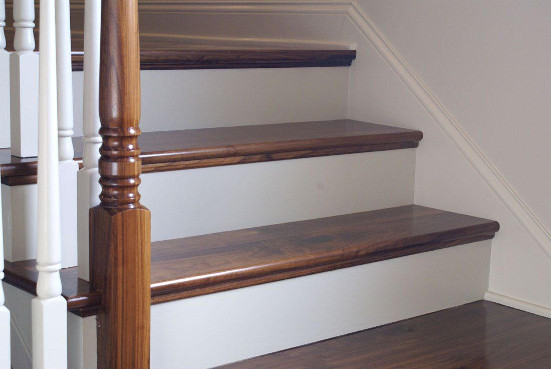 Custom Millwork Stair Part Trim And More Millwork | Custom Oak Stair Treads