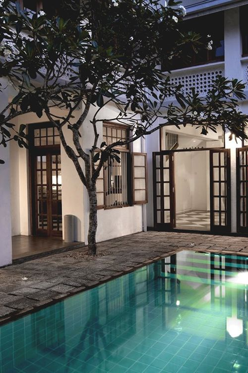 Iron Framed Doors X Swimming Pool Home Architecture Zwembad