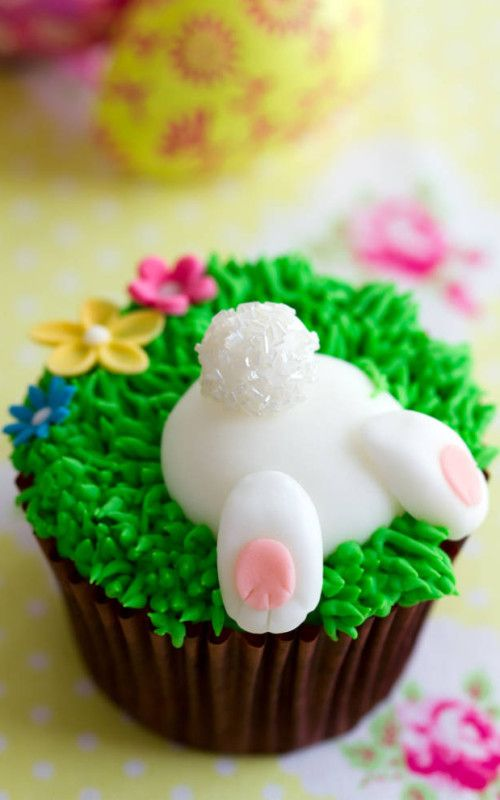 easter bunny cupcakes ostern ideen kuchen geb ck. Black Bedroom Furniture Sets. Home Design Ideas