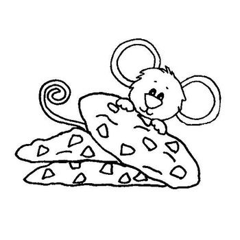 48+ Give a mouse a cookie coloring page HD
