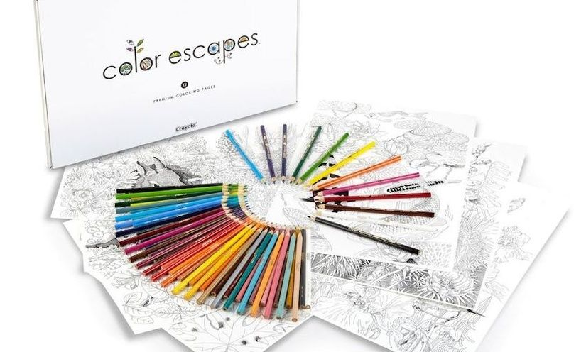 Crayola Is Launching Its Own Line Of Adult Coloring Books