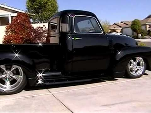 Andre 39 s 1951 chevy 5 window stepside at idle rat rod for 1951 gmc 5 window pickup