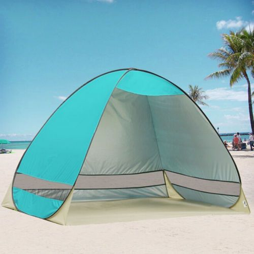 Pop Up Portable Beach Canopy Sun UV Shade Shelter C&ing Outdoor Fishing Tent #UnbrandedGeneric # & Pop-Up Portable Beach Canopy Shade Shelter Outdoor Camping Tent ...