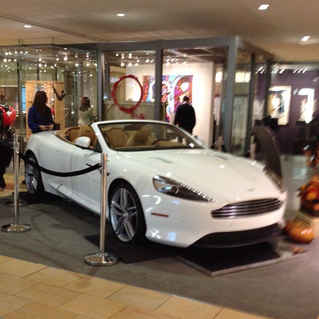 The Ashton Martin That Was In The Galleria Mall In Houston My Dream Car Dream Cars Bmw Car