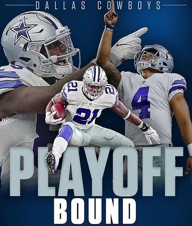 Rejoice Cowboys fans....WE BACK! ✭