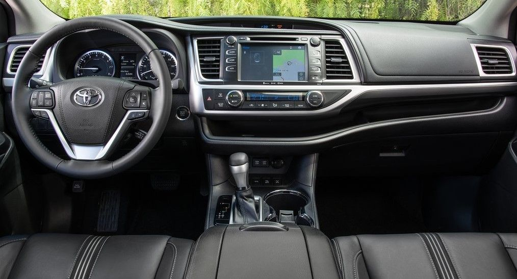 2020 Toyota Highlander Interior Toyota Highlander Toyota Highlander Interior Toyota