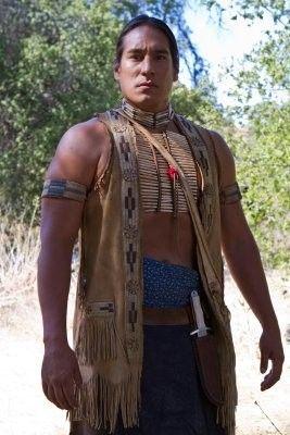 Single native american man