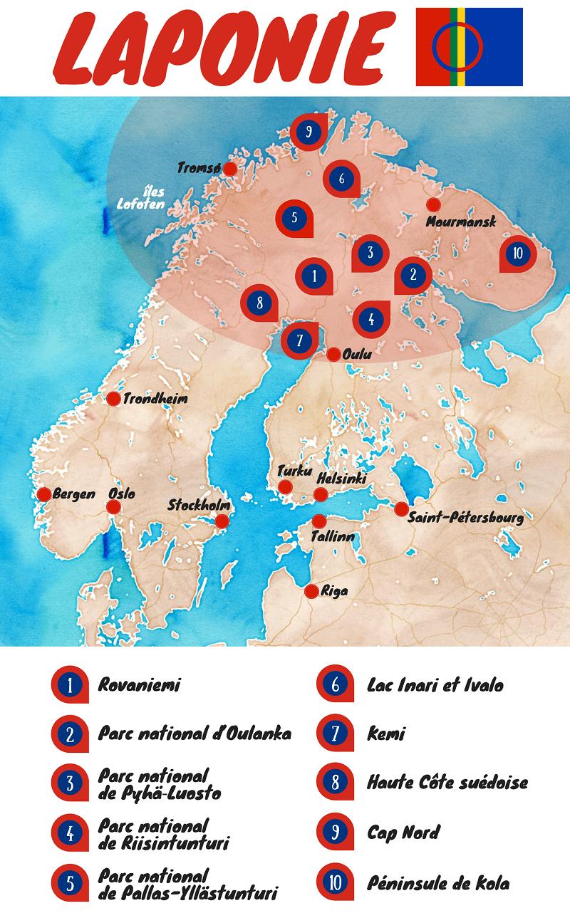 Le Voyage En Laponie Ou Lexpédition Merveilleuse Voyage