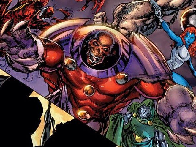 ¿Red Skull? detalles inéditos del nuevo universo de Marvel Comics.