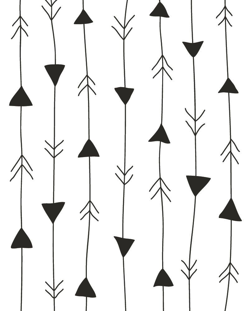 aplaceforart:  arrows print / more art here