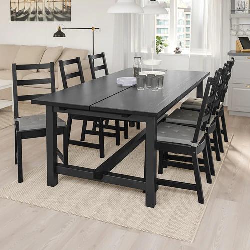 ikea wood dining table