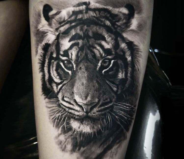 Tiger Tattoo By Eliot Kohek Post 22838 Tiger Tattoo Tiger Head Tattoo Tattoo Style
