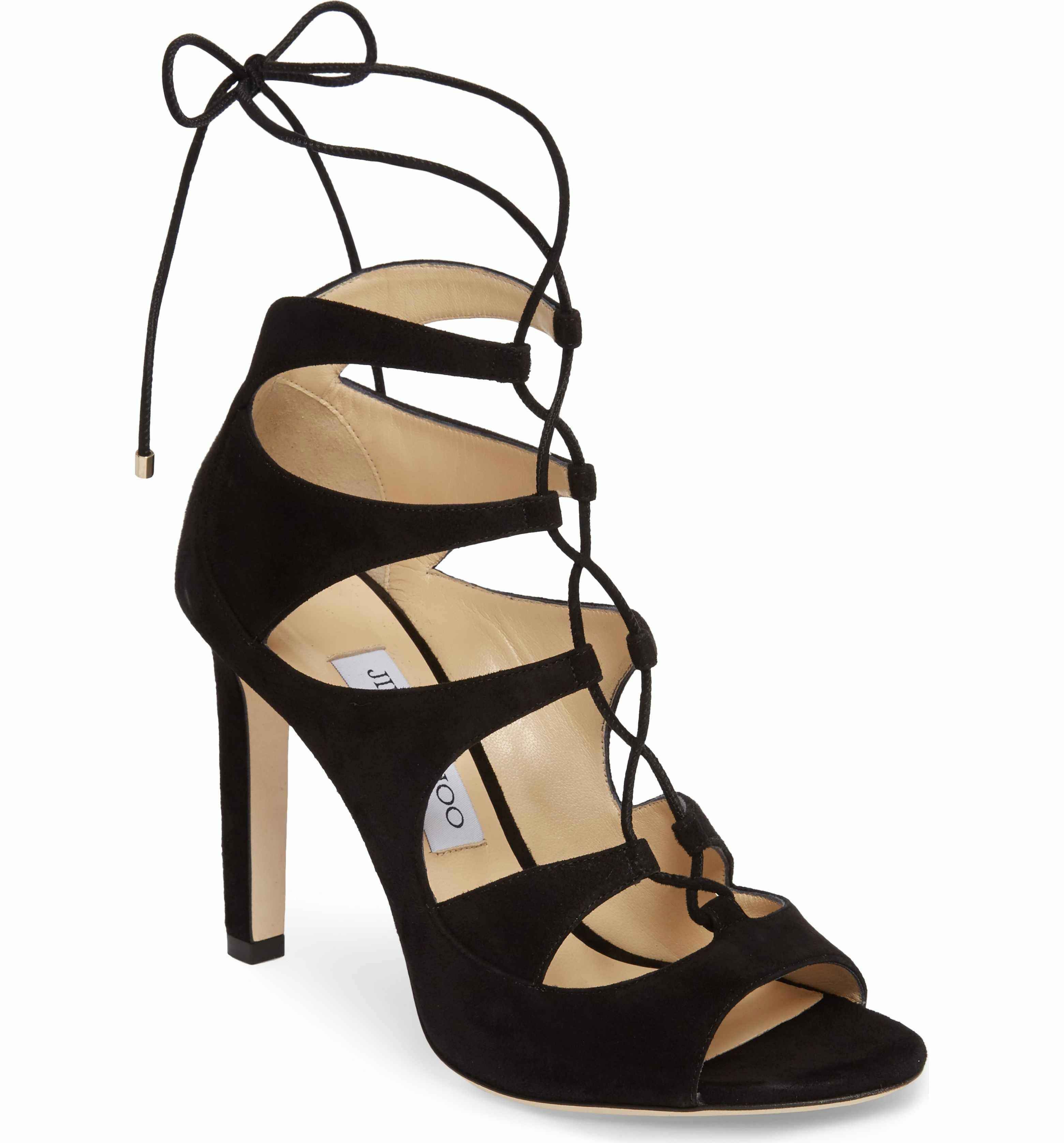 38687cd3e8 Main Image - Jimmy Choo Blake Lace-Up Sandal (Women) #JimmyChoo ...