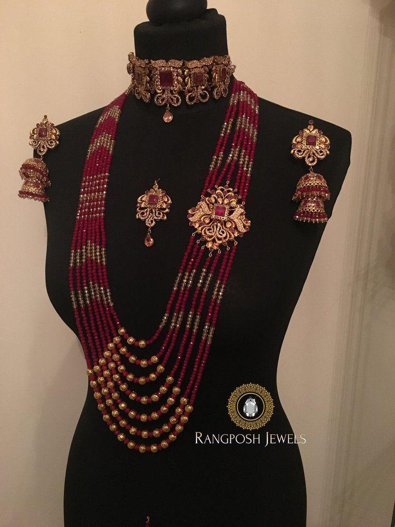 Aariya Bridal Set Pakistani Bridal Jewelry Bridal Sets Indian Wedding Jewelry