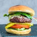 Photo of Easy Juicy Air Fryer Hamburgers