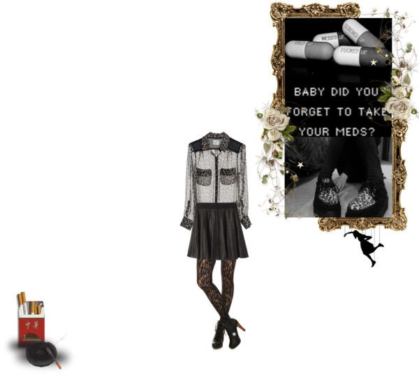 """""""no,but i taked them all in once"""" by mikiti ❤ liked on Polyvore"""