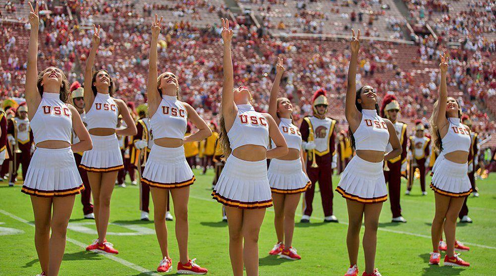 Pin by rich mac on college footballs best cheerleaders