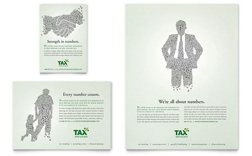 Accounting Tax Services Flyer Template 85 X 11 Template