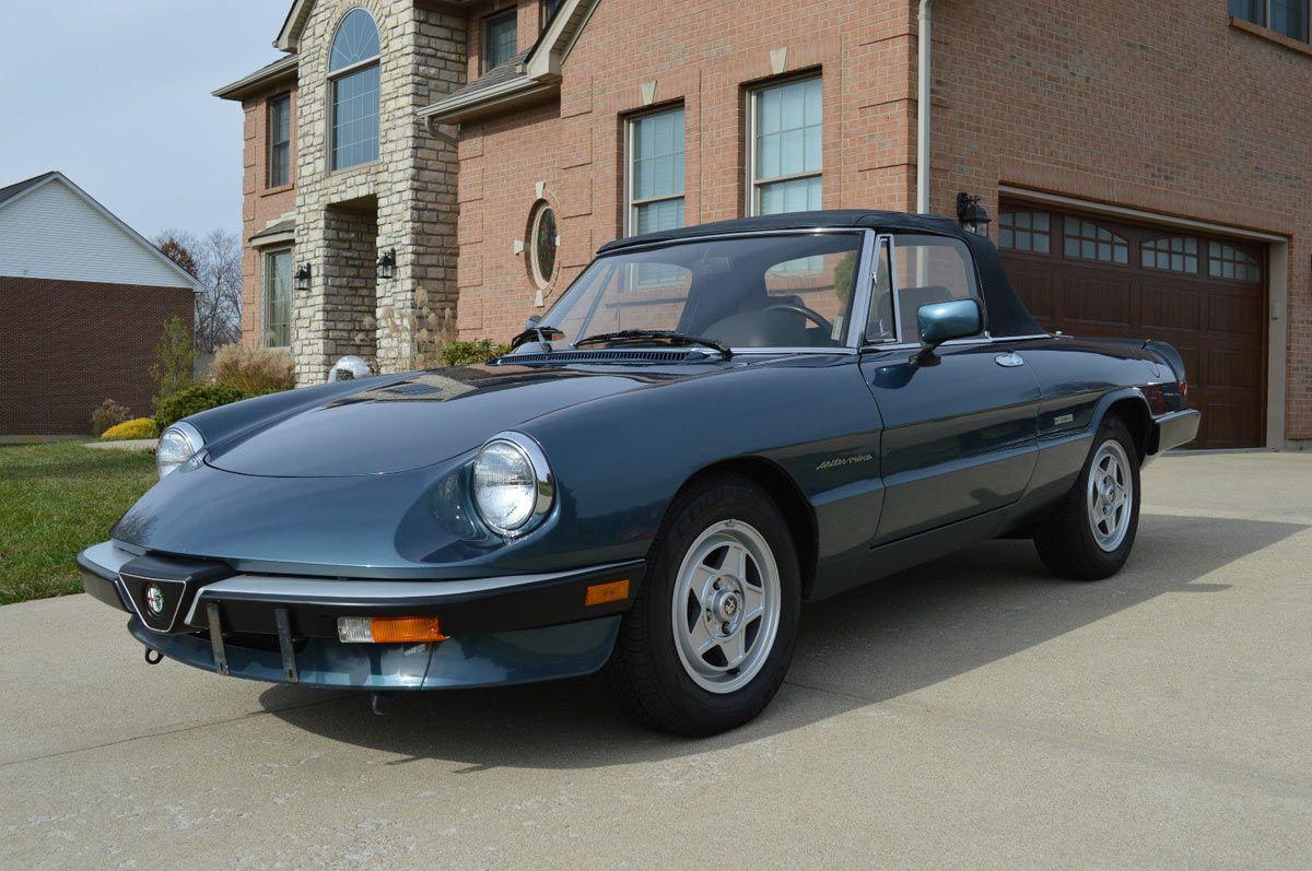 Classic 80s Italian Cars For Sale Now Alfa Romeo Pinterest 1989 Spider Series 3