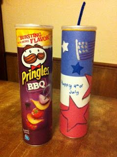 Patriotic Pringles may spark some conversations about being a passionate firecracker for Jesus for the 4th of July!
