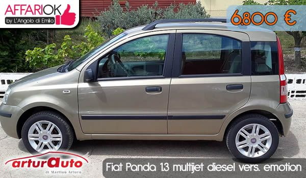 Fiat Panda 1.3 multijet diesel vers. emotion http://affariok.blogspot.it/2015/07/fiat-panda-13-multijet-diesel-vers.html
