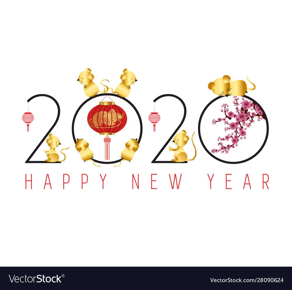 Happy chinese new year 2020. Download a Free Preview or