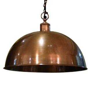 18 inch luna pendant lamp antique copper schots home emporium ceiling mozeypictures Choice Image