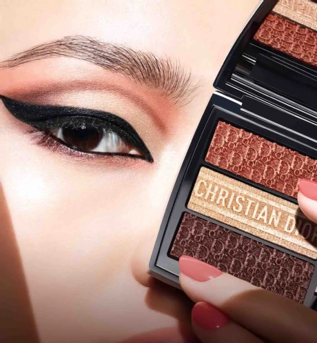 3 couleurs trioblique  limited edition  eyeshadow