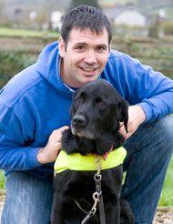 guide dog owner konrad galen bisping winner of the inspirational rh pinterest com guide for new dog owners guide for first time dog owners