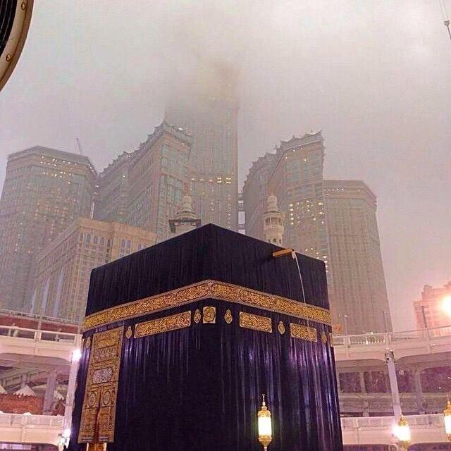 مكة المكرمة وقت الأمطار Makkah Islamic Pictures Beautiful Mosques